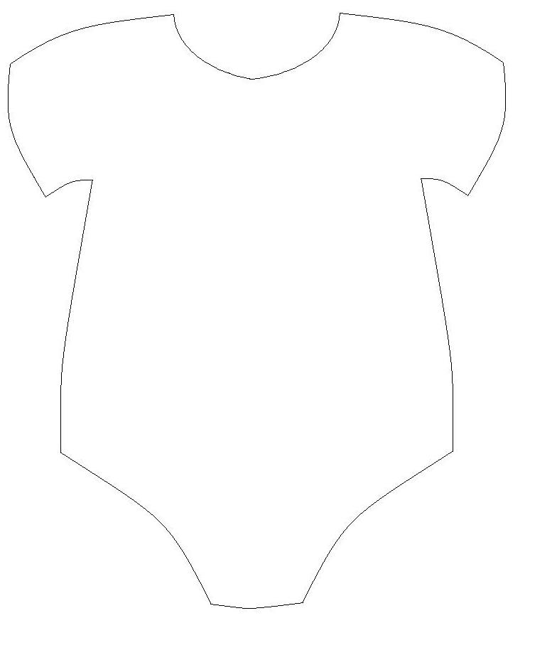 Baby One-Piece Templates / thelittledabbler